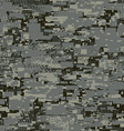 Camouflage urban disruptive block khaki seamless vector image vector image