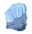 Mineral stone icon vector image