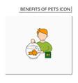 pets benefits color icon