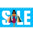 Sale and Successful purchases vector image vector image
