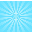 Blue rays star burst vector image vector image