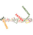 gifts you can give to christian fathers on father vector image vector image