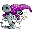 Hand-drawn of an Magic Computer Mouse vector image vector image