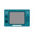 portable videogame console icon image vector image vector image