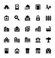 Real Estate Icons 4 vector image vector image