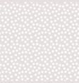seamless polka dots background pattern in white vector image