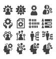 skill icon vector image vector image