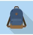 Backpack school bag vector image vector image
