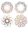 Circle lace ornament set