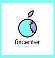 fix repair center logo vector image