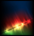 green-red-blue diagonal wave abstract equalizer vector image