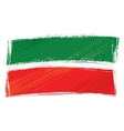 Grunge Tatarstan flag vector image vector image