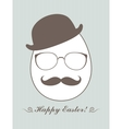 Hipster Easter vector image vector image