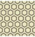 Honey Comb Pattern vector image vector image