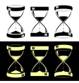 Hourglasses vector image