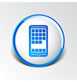 app phone icons the website isolated speech vector image
