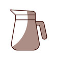 Coffee teapot isolated icon
