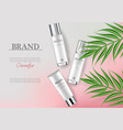 cosmetics cream moisturizer hydration vector image vector image