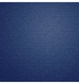 Dark blue jeans texture background vector image