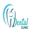 dental icon vector image vector image
