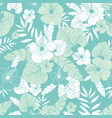 light green and blue tropical summer vector image vector image