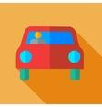Modern flat design concept icon car vector image vector image