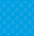 orangutan pattern seamless blue vector image vector image