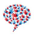 Social medical communication vector image vector image