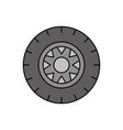 car wheel service concept vehicle maintenance road vector image