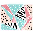 color pastel abstract pattern multi colored vector image vector image