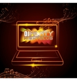 Music dj party theme vector image vector image