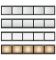 Pack film strip isolated