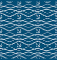 seamless pattern with chains and anchors ongoing vector image vector image