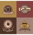 set coffee labels badges and logos for design vector image vector image