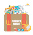 set concepts and banners travel summer in vector image vector image