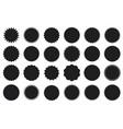 sticker promo sales or discount set label icon vector image