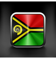 Vanuatu icon flag national travel icon country vector image vector image
