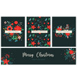 christmas backgrounds and new year abstract vector image vector image