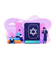 judaism concept vector image