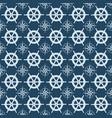 maritime mood seamless nautical pattern vector image vector image