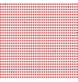Red hearts background on white vector image vector image