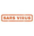 Sars Virus Rubber Stamp vector image vector image
