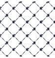 seamless tie dye indigo pattern background vector image vector image