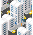 urban isometric area vector image