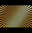 gold optical illusion deception background vector image