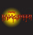 halloween party word background vector image vector image