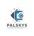 professional photo photography symbol logo vector image