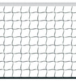 seamless volleyball net vector image vector image