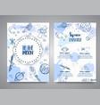to moon slogan space brochure hand drawn vector image vector image