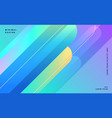 blue abstract lines banner design vector image